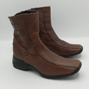 Clarks 89522 Brandy Brown Ankle Boots